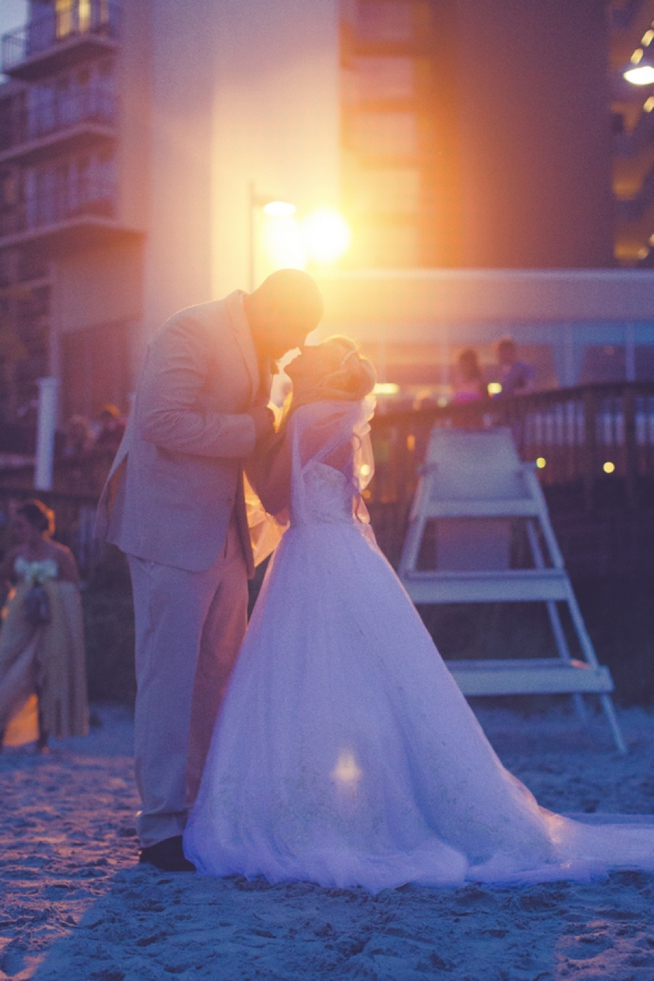 Margot Amp David Hilton Myrtle Beach Resort Wedding Row