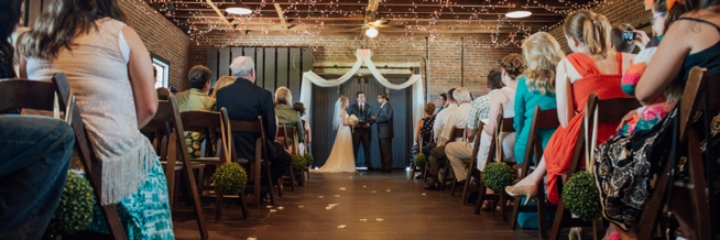 Sydney Amp Jeremy Myrtle Beach Train Depot Wedding Row