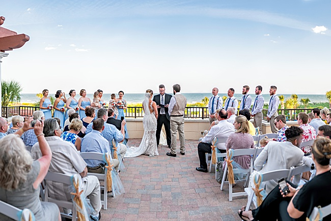 ceremony,grande dunes,hdr,myrtle beach,ocean,ocean club,panorama,wedding,